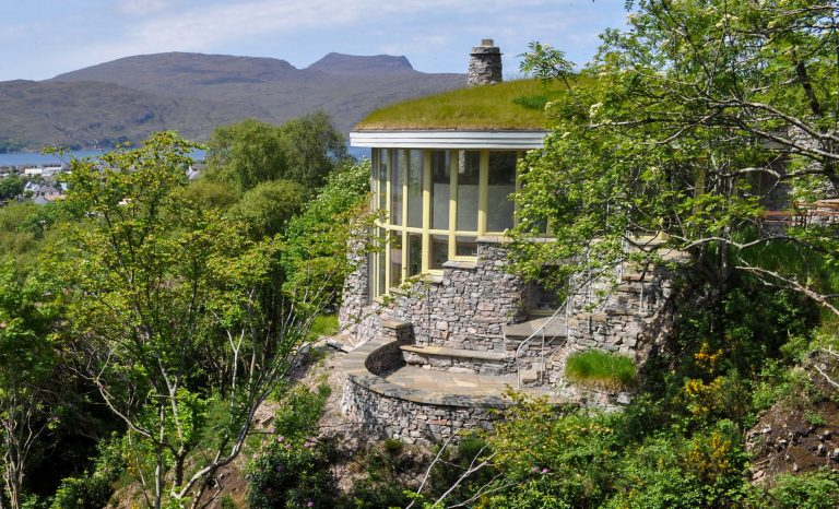The Treetop House stonehouses ullapool
